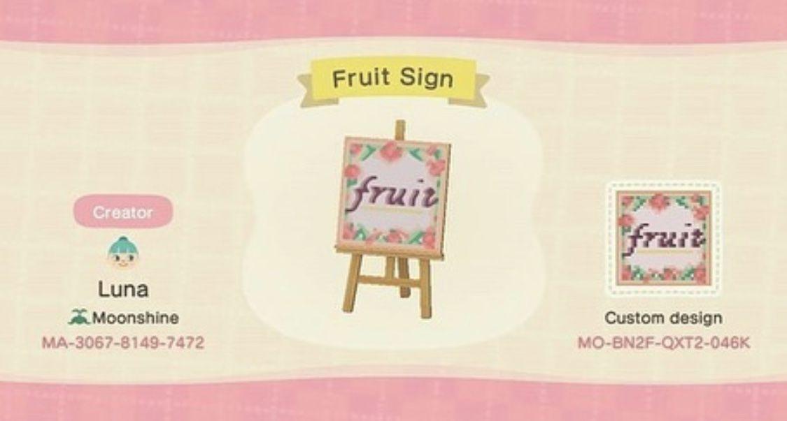 15+ Animal crossing fruit new horizons ideas