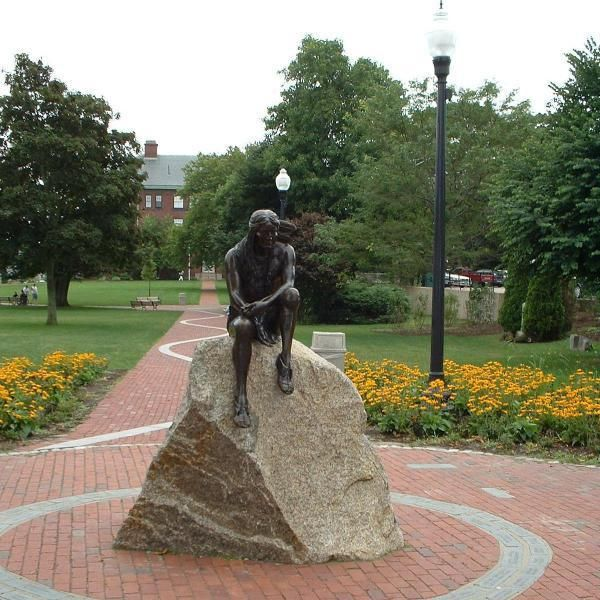 Iyannough (also Iyanough) was an American Indian sachem and leader of the Mattachiest (Mattakeese, a sub-group of the Wampanoag people) tribe of Cummaquid in the area of what is now Barnstable, Massachusetts. The village of Hyannis, the Wianno section of Osterville, and Iyanough Road (Route 132) are all named after him.