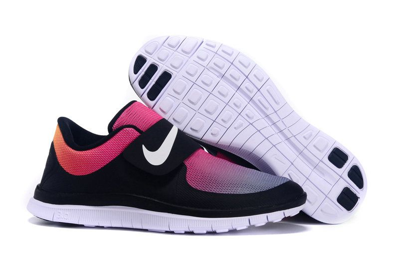 6dc74641b587 Womens New Nike Free Socfly SD Tie Dye Black White Pink Flash Gradient  724766 005