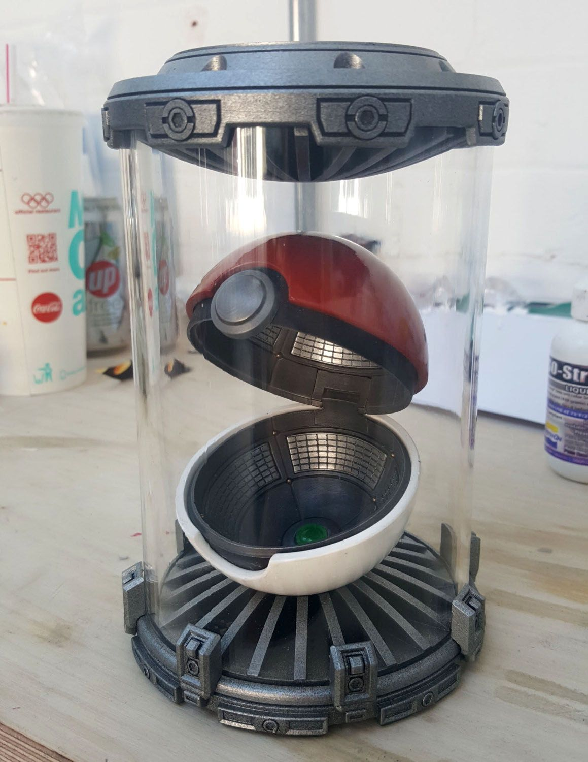 Pokeball Display Unit