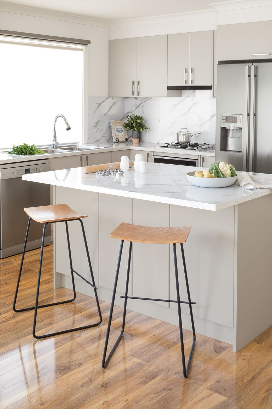 Function meets classic style with this kaboodle kitchen design ...