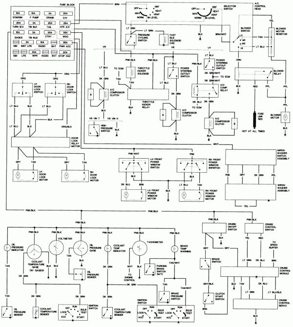 1985 Chevy Truck Fuse Box Diagram and S Fuse Box
