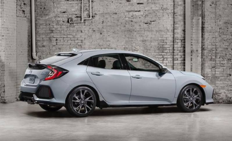 Every Honda Civic Hatchback Sports A Large Hatch Compartment - 2017 honda civic ex t invoice price