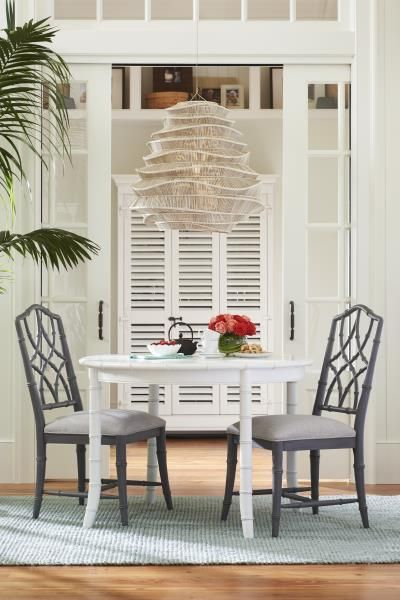 Universal furniture international inc universal paula deen home bungalow collection keeping room table and chairs