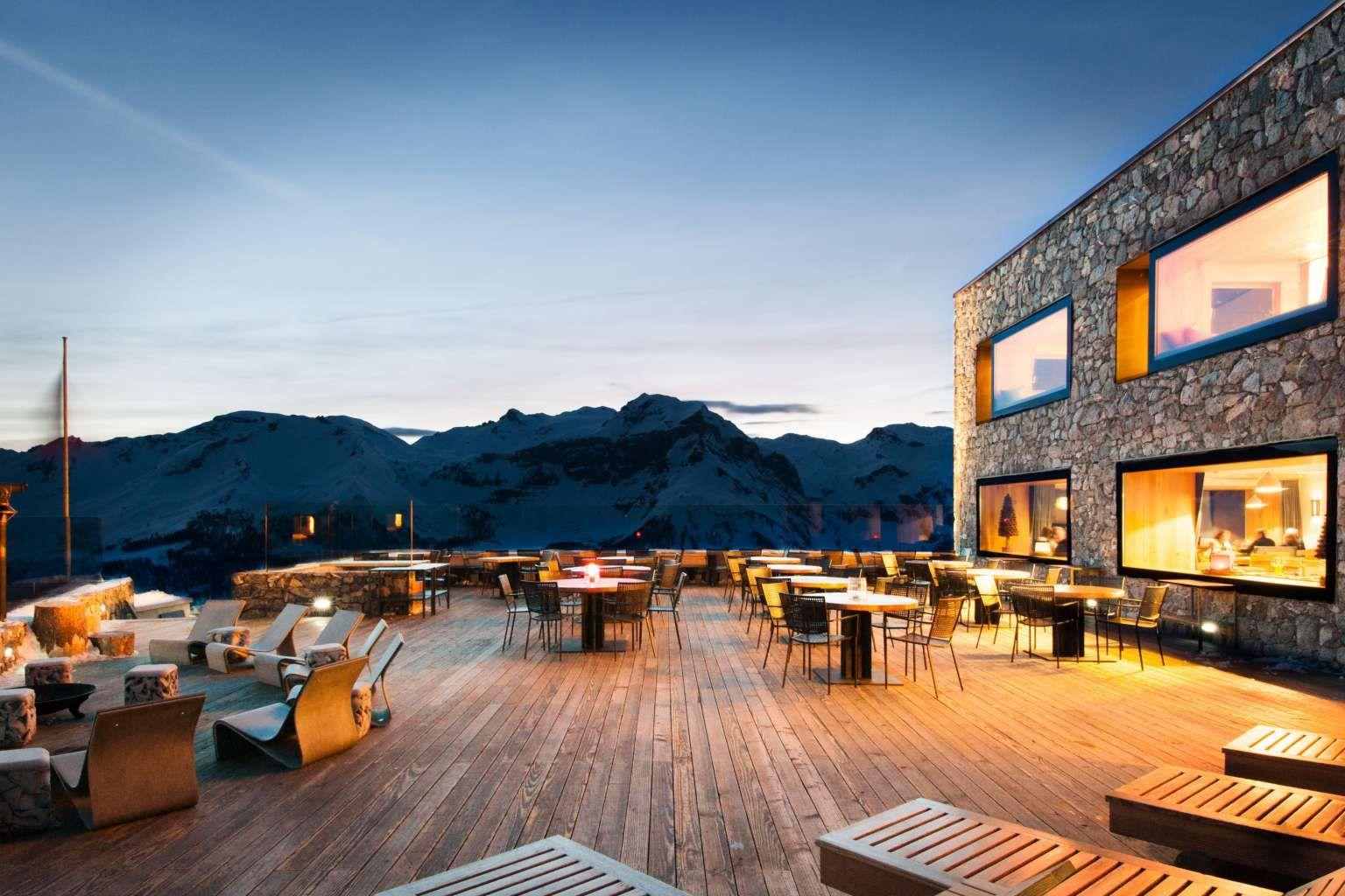 Hotel chetzeron à crans montana suisse luxury hotels switzerland
