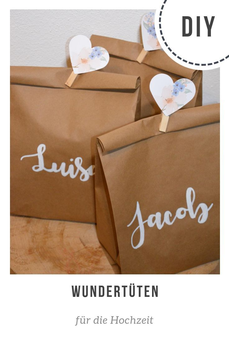 Geschenketaschen für die Kinder mit Malbüchern, Seifenblasen,... #weddinggift
