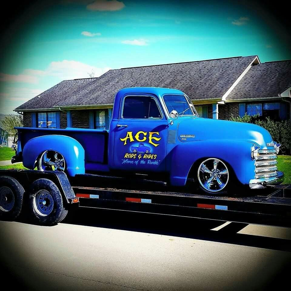Ace Rods And Rides Knoxville Tn Vintage Trucks Chevy Pickups