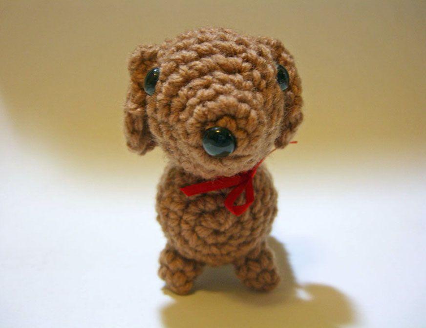 Free Amigurumi Dachshund Pattern : Dolly the dachshund free pdf pattern here juneatnoon