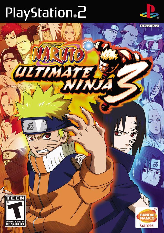 Naruto Ultimate Ninja 3 Naruto Games Playstation 2 Naruto