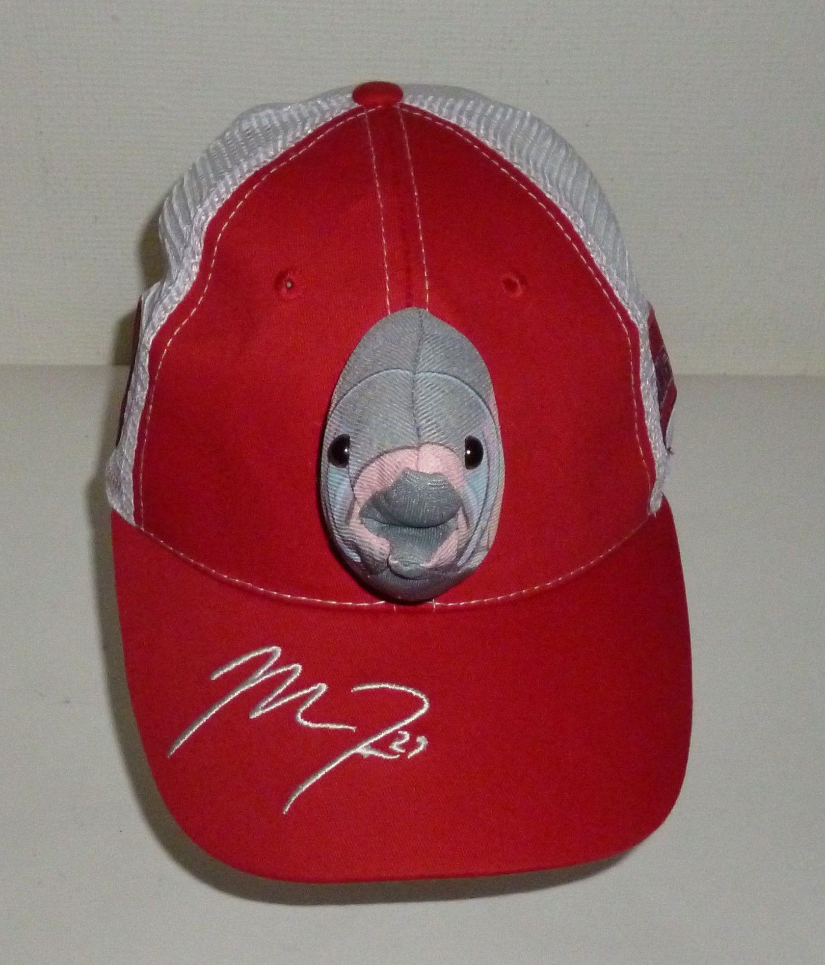 Mike Trout  27 Fish Head Angels MLB Baseball Cap Hat  34fc54d654c