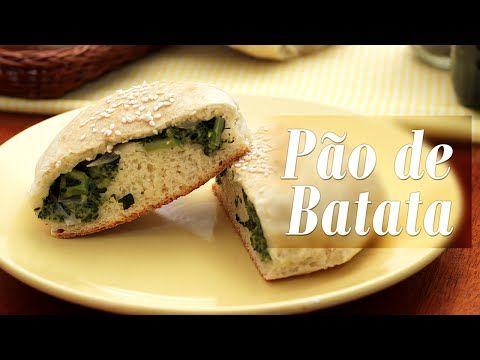 Pão de Batata Vegano - Presunto Vegetariano