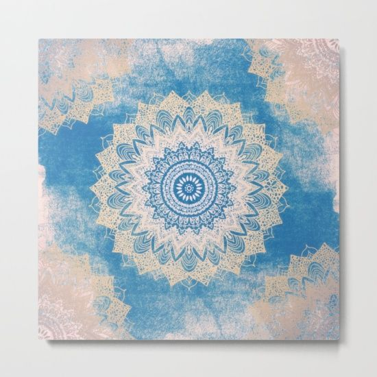 Our Metal Prints Are Thin Lightweight And Durable 1 16 Aluminum Sheet Canvas Metal Prints Mandala Graffiti
