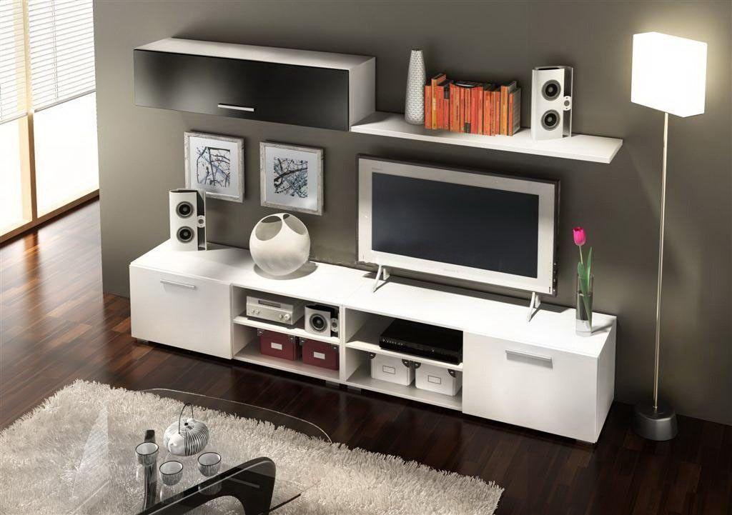 Mueble tv centro de entretenimiento modelo horizon - Television pequena plana ...