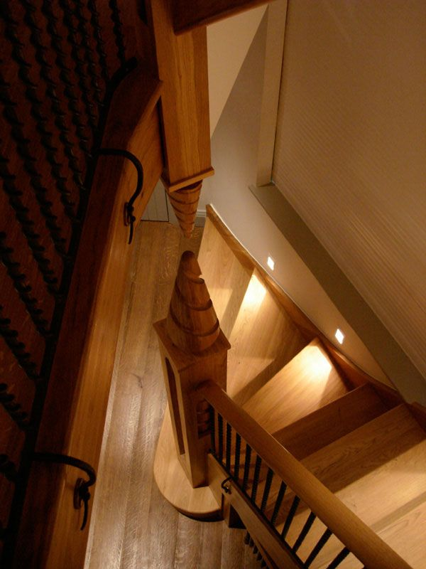 Best Bespoke Timber Staircase Witcher Crawford Architects And 400 x 300