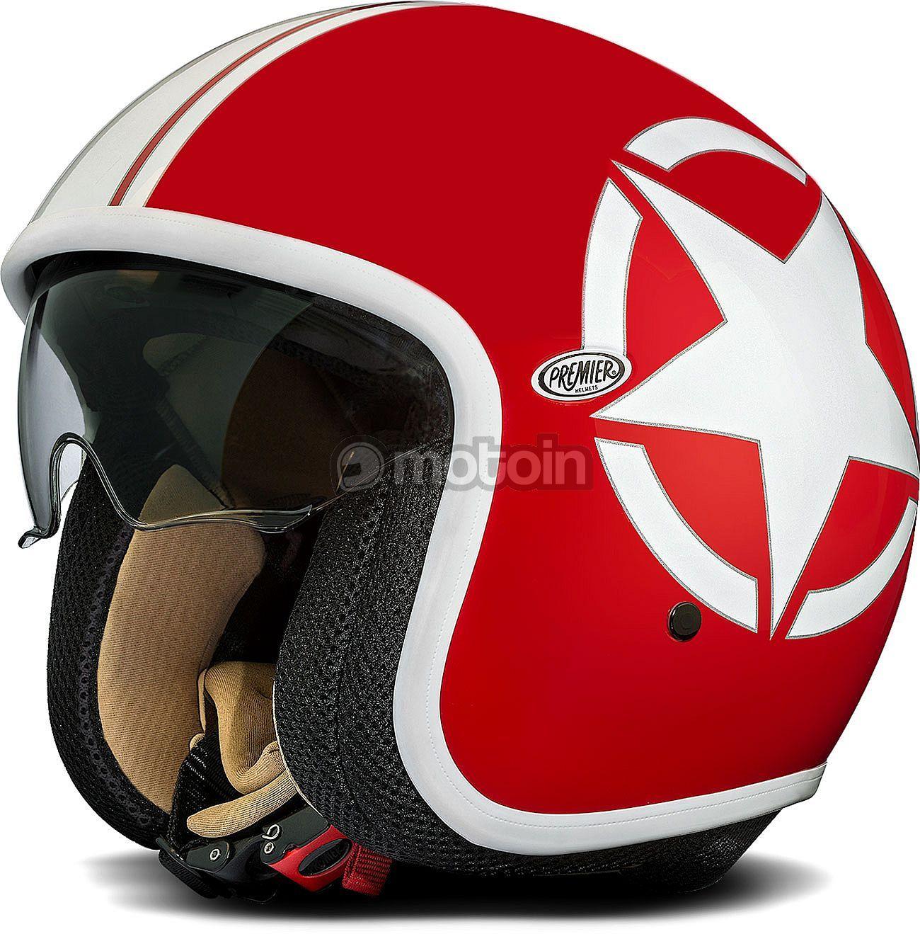 Premier Vintage Star Jet Helmet Custom Motorcycle Helmets Retro Motorcycle Helmets Helmet
