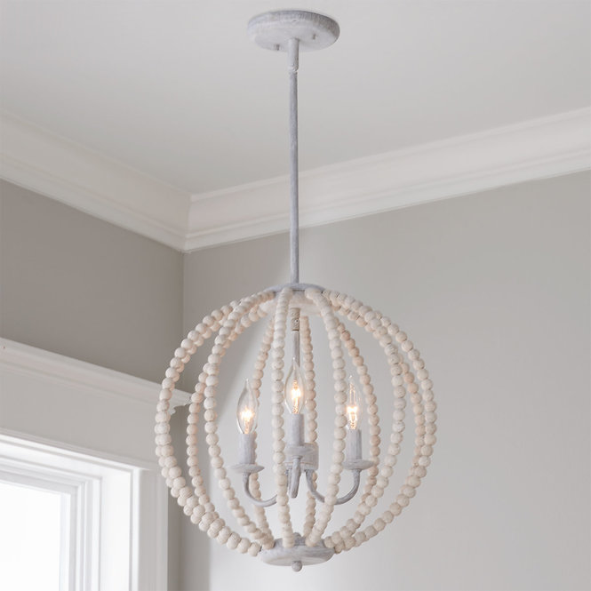 Newport Beads Chandelier Small In 2020 Beaded Light Fixture Beaded Chandelier Coastal Light Fixtures
