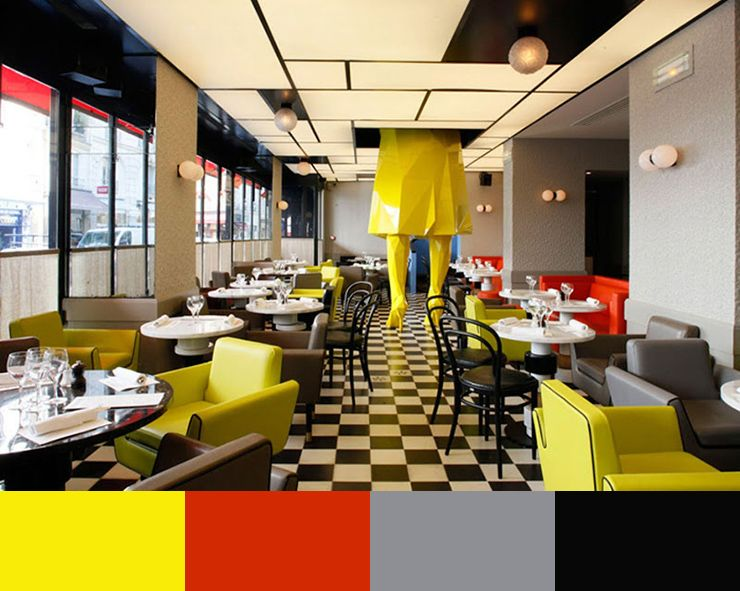 10 Restaurant Interior Design Color Schemes
