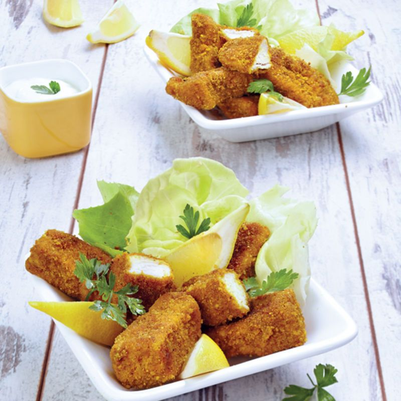 Nuggets De Poulet Maison Recette De Nuggets De Poulet: Nuggets De Poulet Aux épices