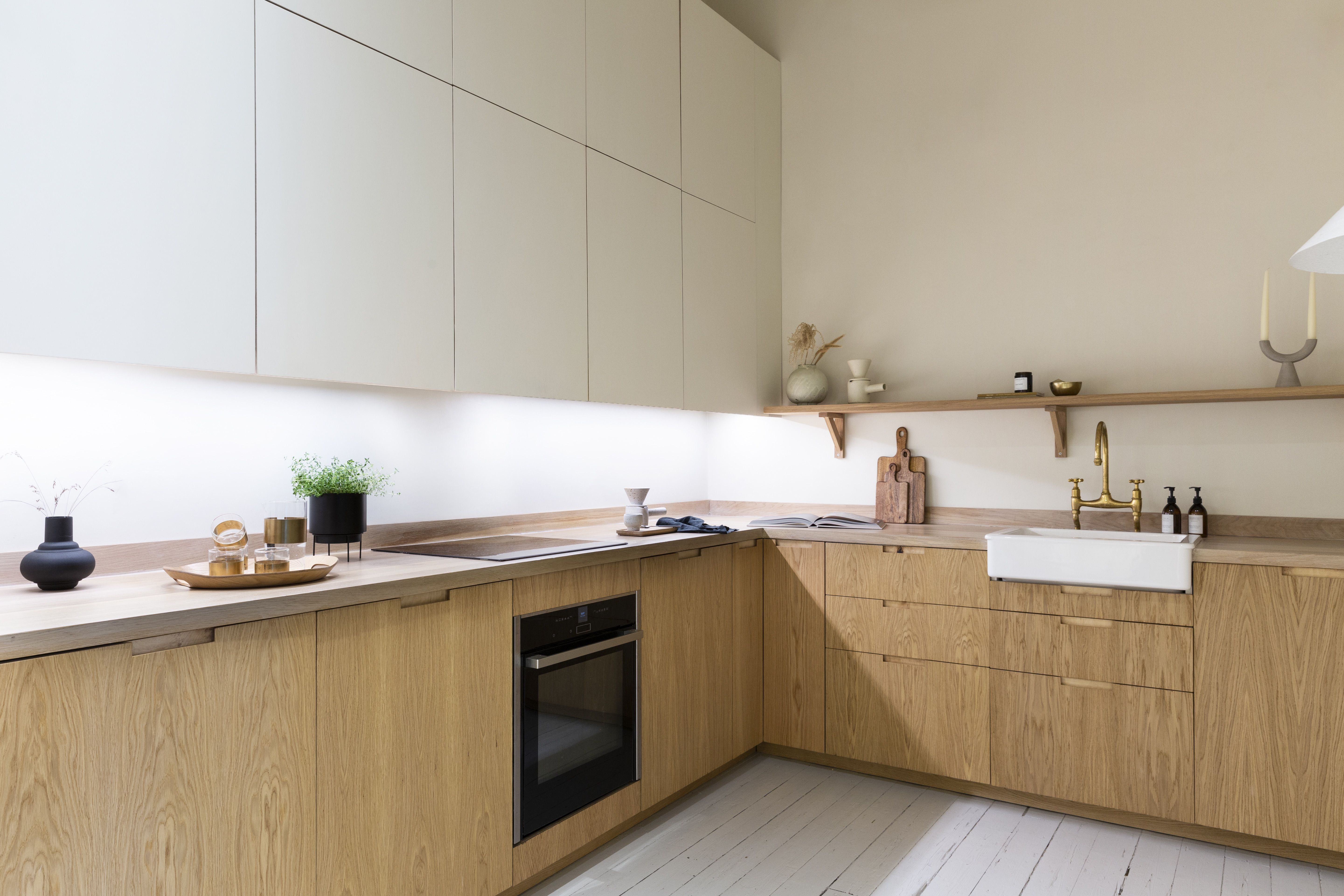 Oak Wood Kitchen in 2020 Wood kitchen, Wood