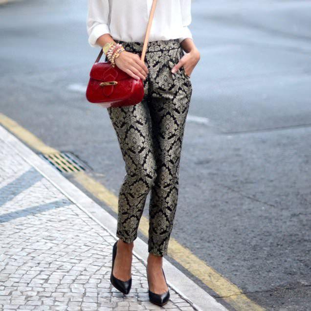 Brocade Trousers - lifestylerstore - http://www.lifestylerstore.com/brocade-trousers/