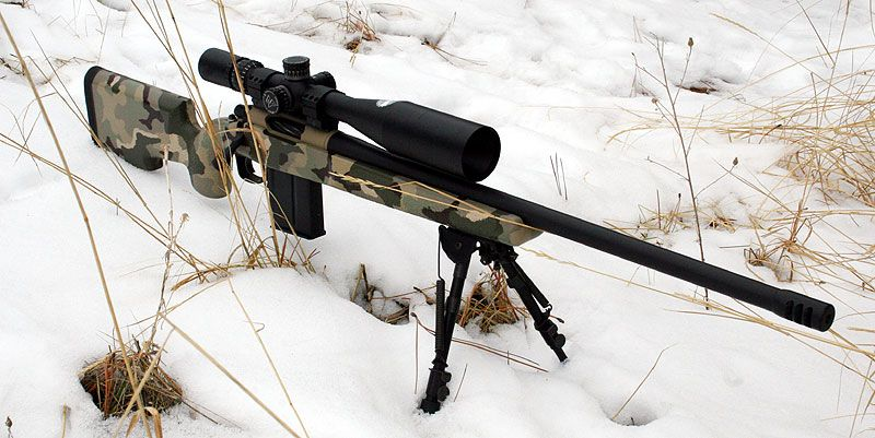 Mcmillan A5 stock and Nightforce scope tactical rifle | Big