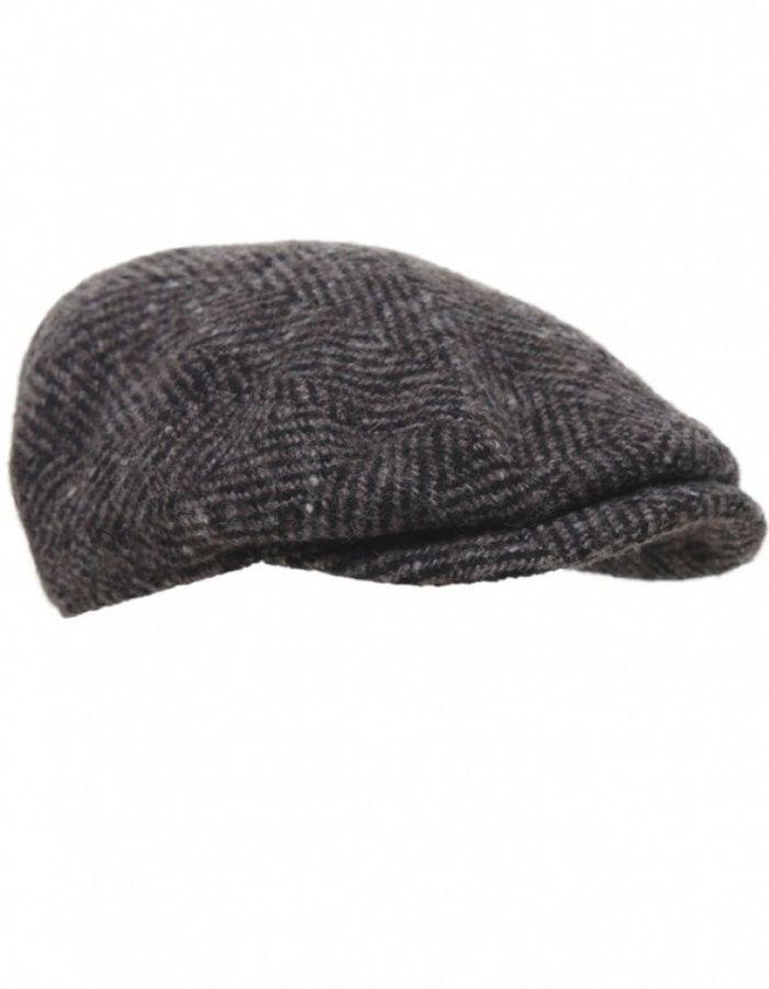 c74267f8c Stetson Herringbone Bandera Flat Cap | | clothes | | Flat cap, Flats ...