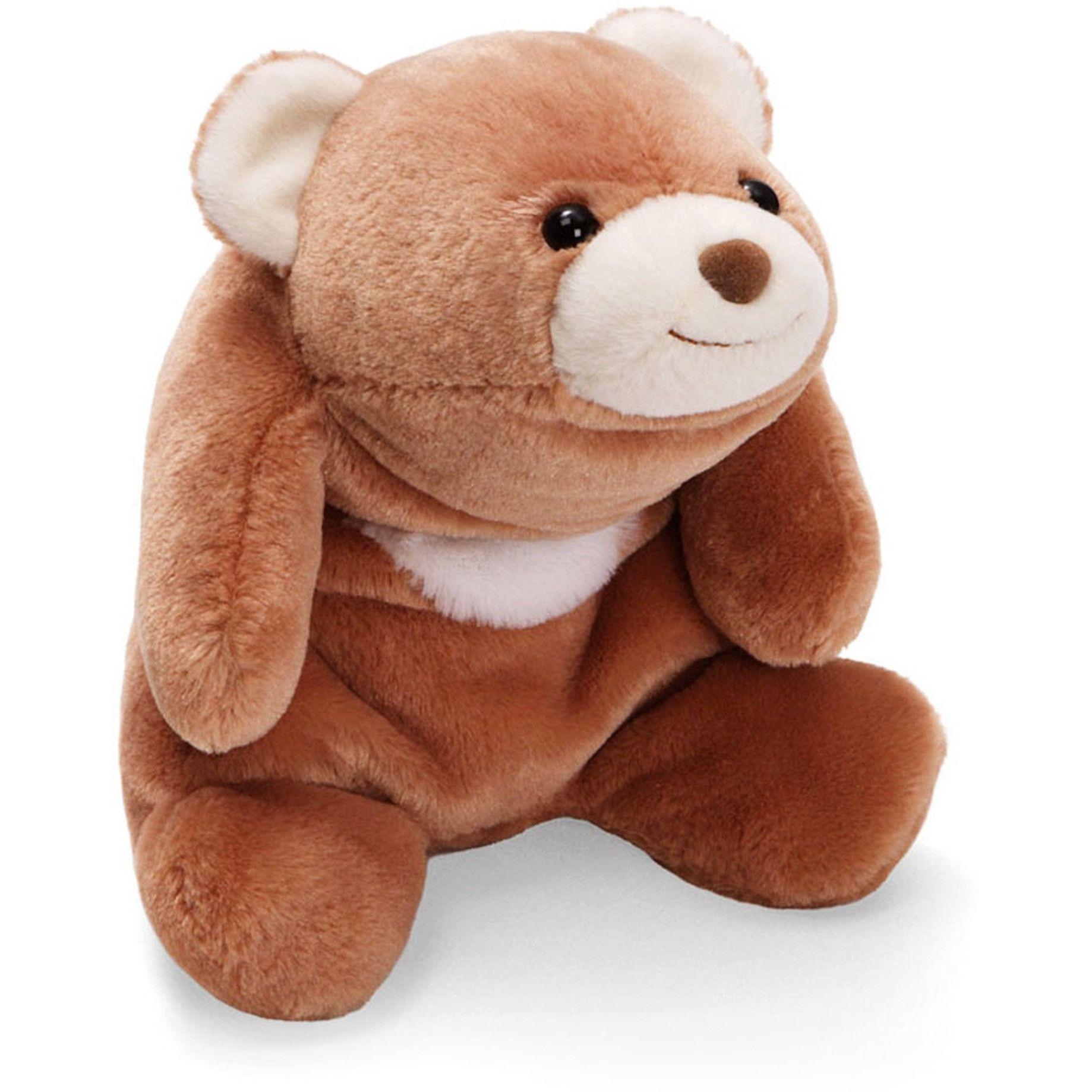 Plush Animal 10-in Rose Pink Sitting Snuffles Teddy Bear GUND