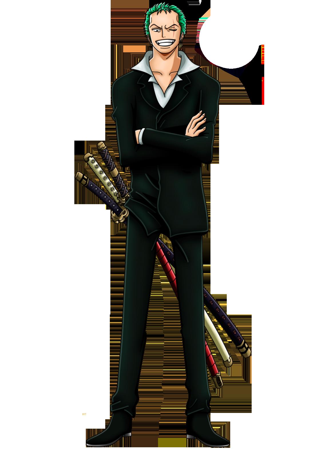 Zoro Dressrosa One Piece Minecraft Skin