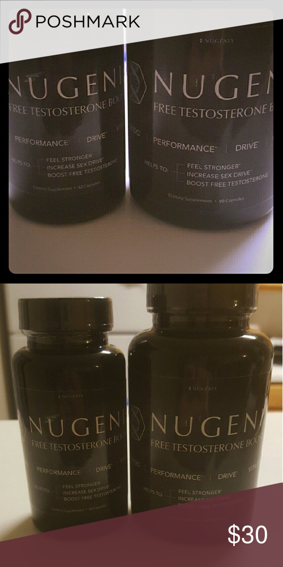 2 bottles of Nugenix Brand new Nugenix 1 bottle 90 pills 1 bottle 42 pills. Brand new sealed. Exp 4/19 Nugenix  Other