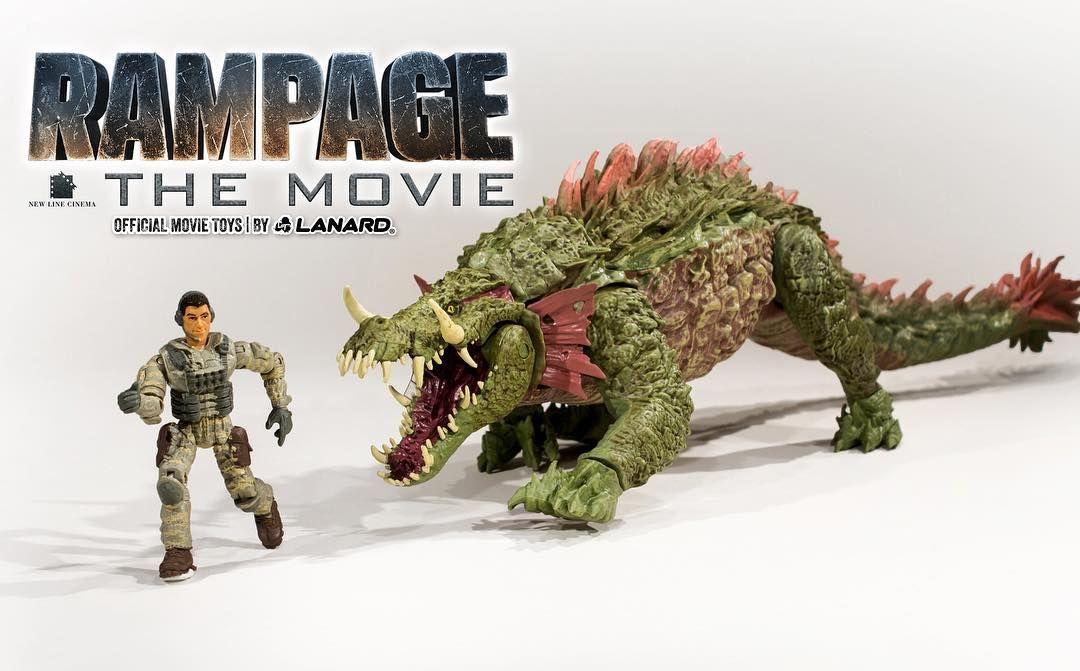 Rampage le film big city Brawl George Exclusive Figure