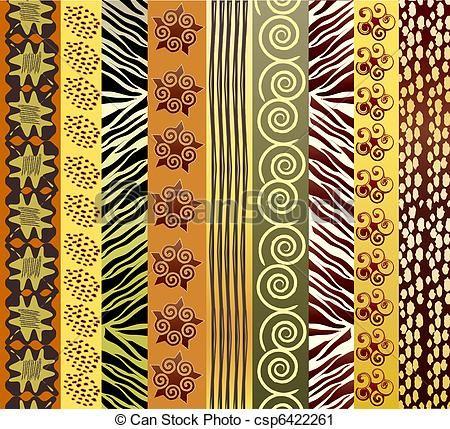 arte africana tecidos - Pesquisa Google