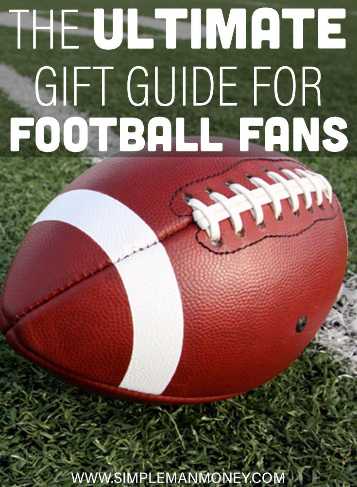 Great gifts for football fans the ultimate football fan