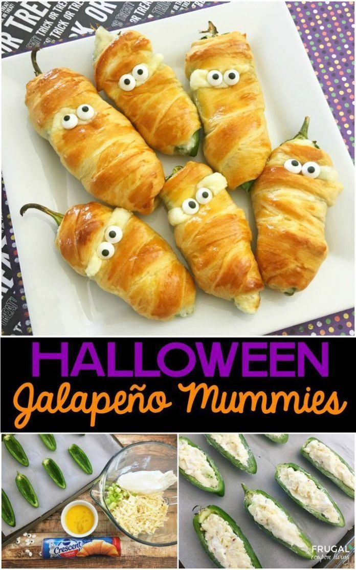 Best Diy Crafts Ideas For Your Home  Jalapeño Popper Mummies a - halloween food decoration