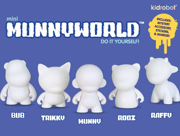 Munnyworld characters toyyzzz pinterest characters view topic new mini munny friends solutioingenieria Choice Image