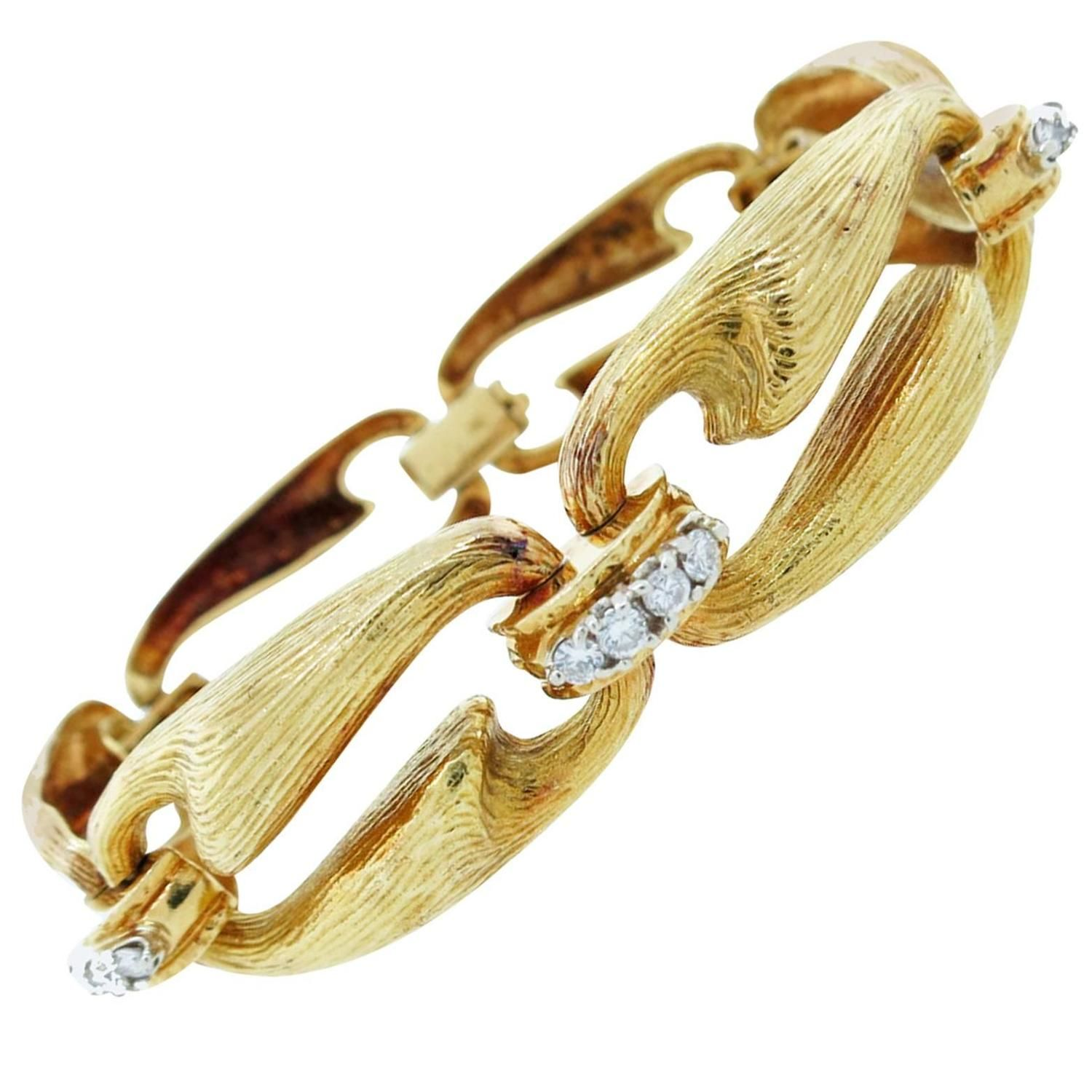 and mart craigs bracelet gold ladies diamond p