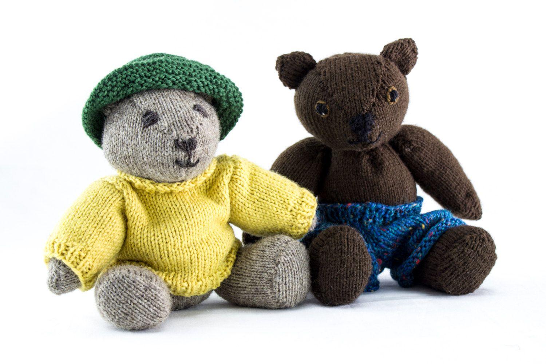 Knitting pattern teddy bear knitting patternjointedteddy bear knitting pattern teddy bear knitting patternjointedteddy bear knitting pattern soft toy knitted softie pattern classic teddy pattern bankloansurffo Gallery