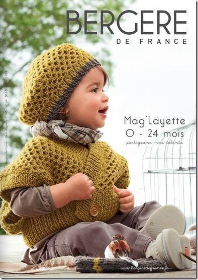 Catalogue Layette Bergère de France n°65   TRICOTS   Pinterest   Bergère de  france, Layette et Catalogue b5a1534a8a2