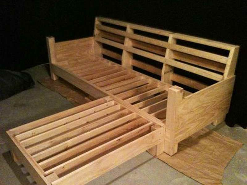 Genial Diy Sofa Plans | Build Your Own Couch: Build Your Own Couch With Wooden  Material .