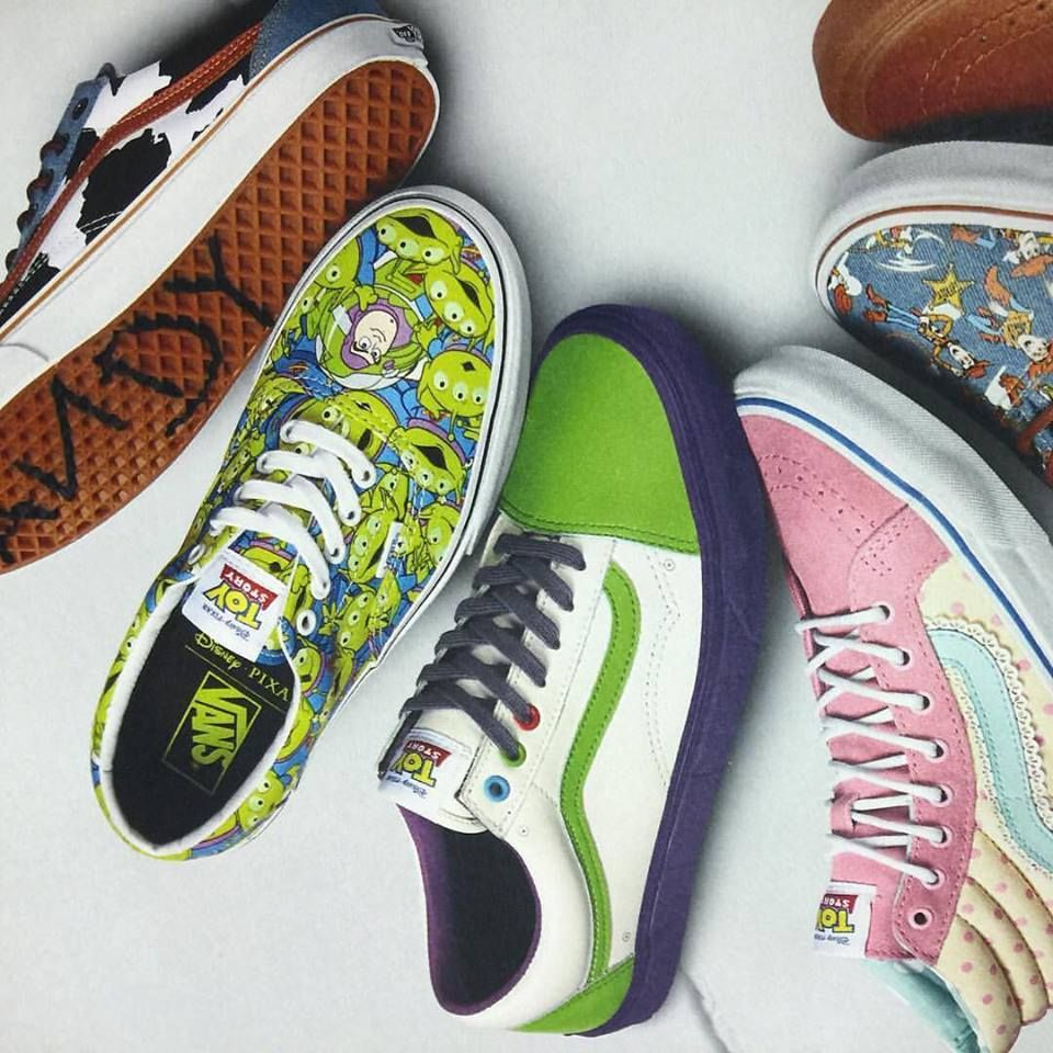Vans Toy Story Era gradient