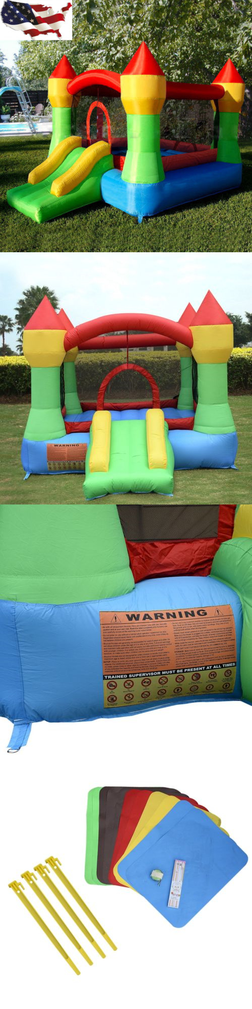 inflatable bouncers 145979 inflatable mighty bounce house castle