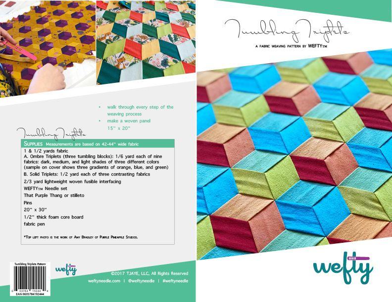 Tumbling Triplets Pattern — WEFTY in 2020 Yarn crafts