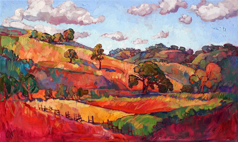 Expressionism Landscapes Painted In Oils By Modern Artist Erin Hanson Painting Abstract Painting Art Painting
