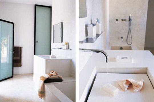 30 salles de bains avec douche et baignoire Deco Salle de bain