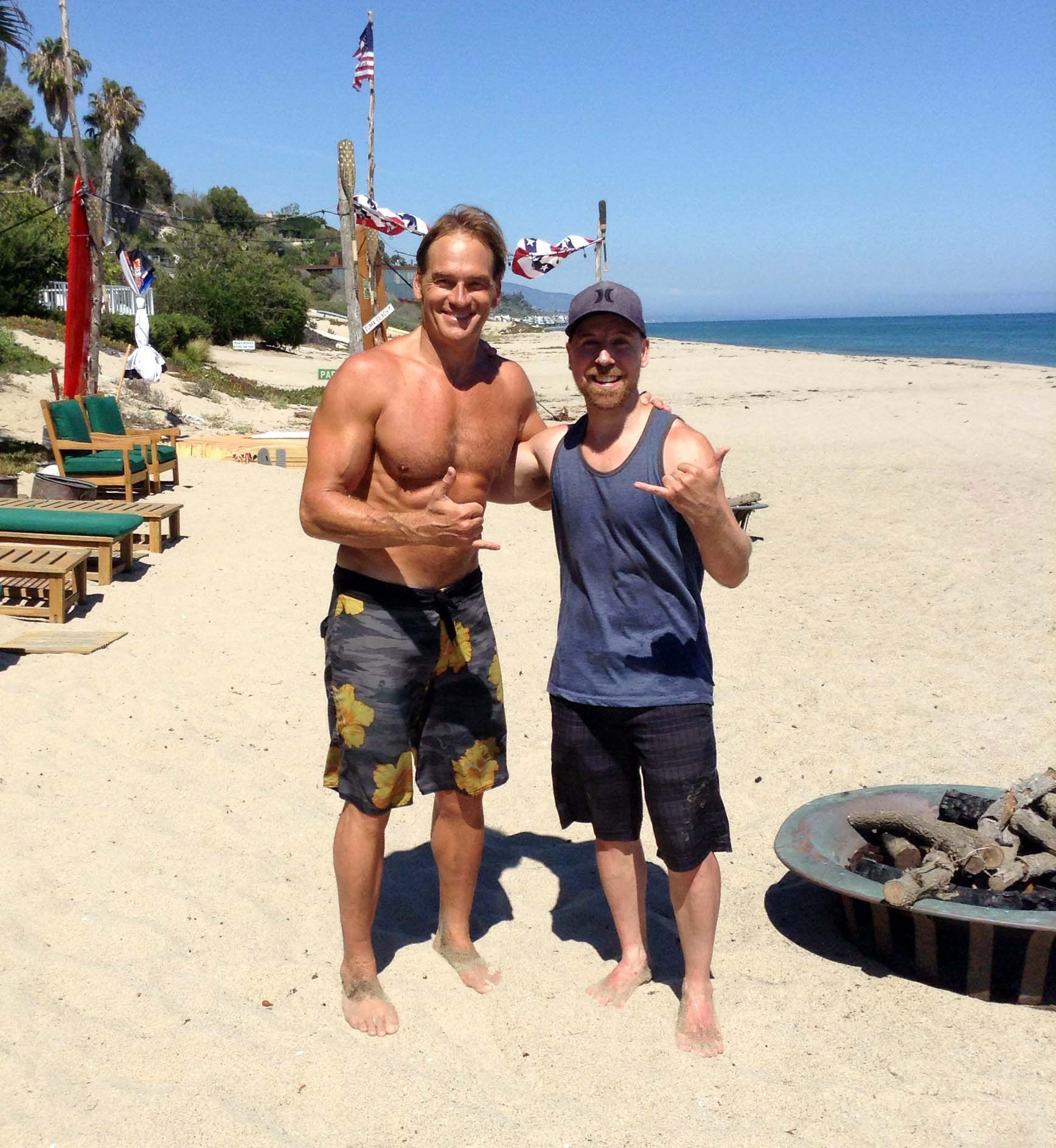 Superlife Spotlight Darren Bachiu Shatters The Protein Myth Darin Olien Outdoor Workouts Fun Workouts Workouts Outside