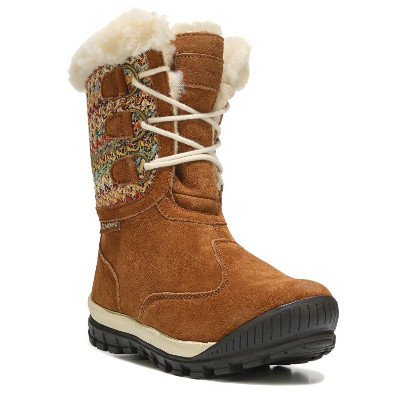 2017 Love BEARPAW Ophelia Lace Up Snow Boot Hickory