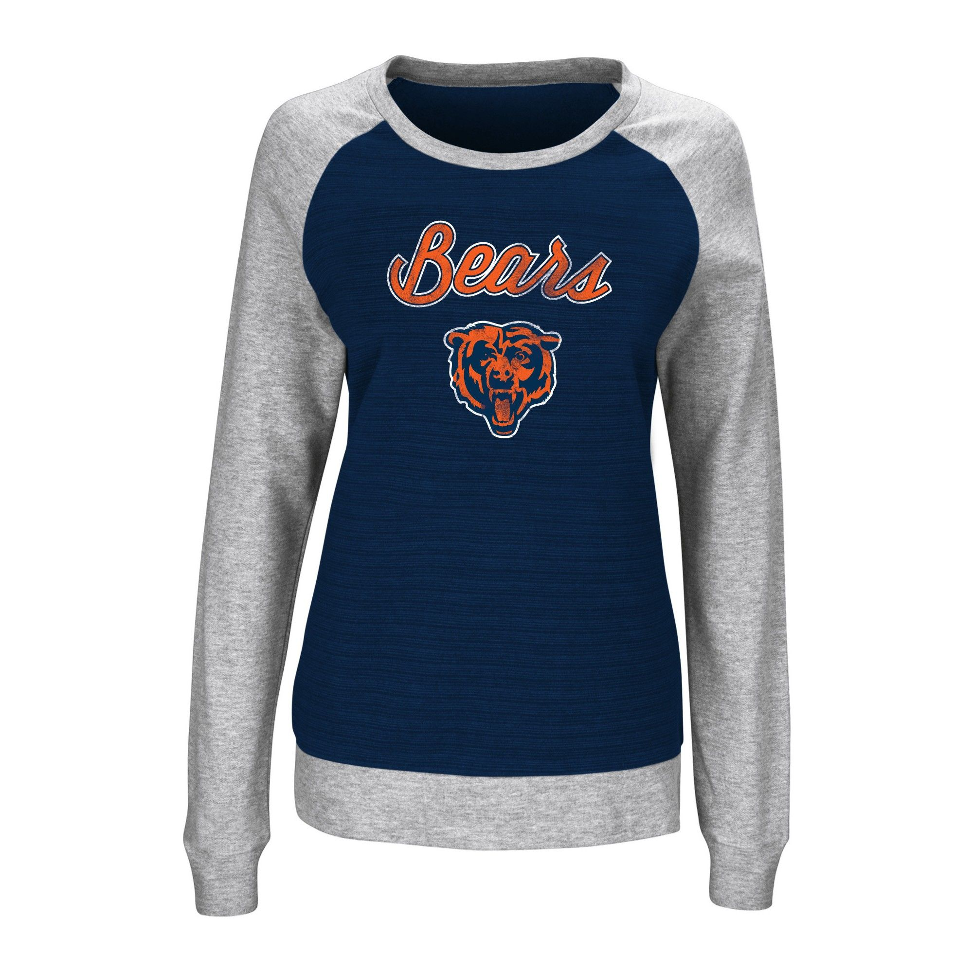 pretty nice 3acaa c9943 Chicago Bears Sweatshirt Xxl, Women's, Gray Multicolored ...