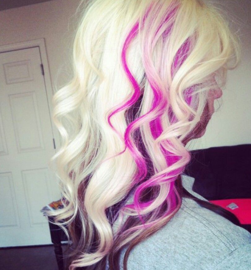 I'm not blonde or will I ever be but this is cute! <3