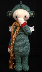 Ravelry: lalylala DIRK the dragon / dinosaur pattern by Lydia Tresselt