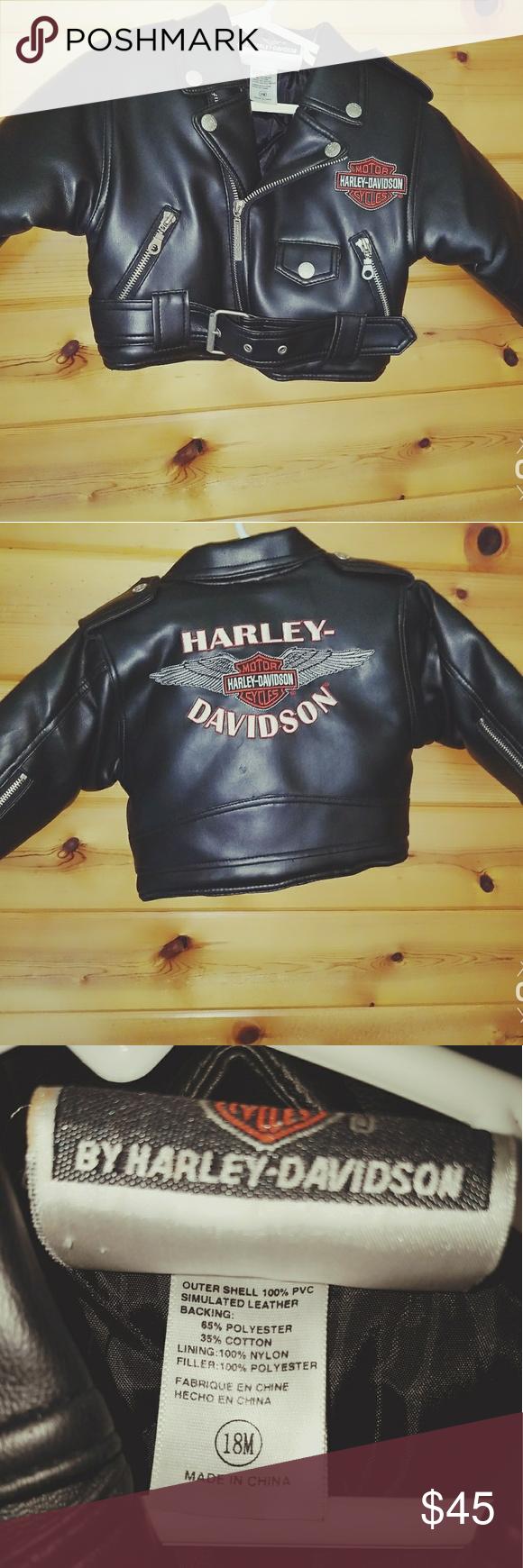 Harley Davidson Kids Leather Jacket Kids Leather Jackets Harley Davidson Kids Jackets [ 1740 x 580 Pixel ]