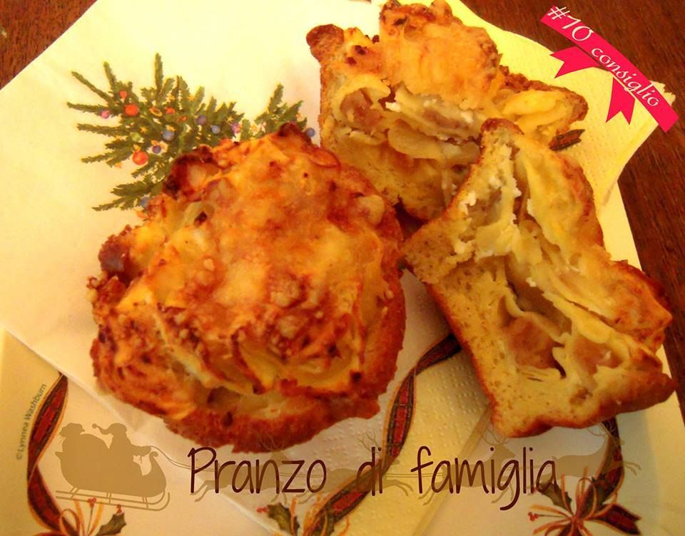10 dicembre  - cestini di tortellini http://www.pranzodifamiglia.it/cestini-di-tortellini-come-usare-i-tortellini-avanzati/